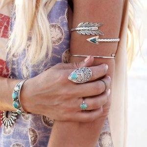 Jewelry - Boho Tribal Arrow Bangle Bracelet | Armband